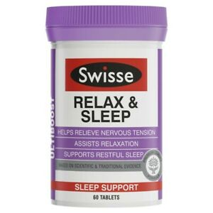 Swisse Ultiboost Relax & Sleep 60 Tablets 1 pack