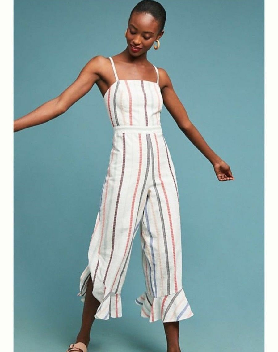 Anthropologie Everly Jumpsuit   NWT new size L