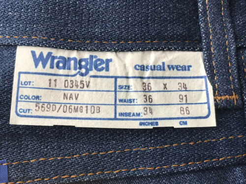 Wrangler Blue Jeans Ultra strong and durable 14 oz Super Denim New Low price!