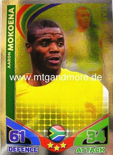 Match coronó World Stars-aaron mokoena-star-jugador