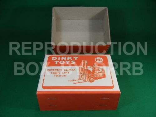 Coventry Climax Montacargas-Caja de reproducción por drrb Dinky #401 14 C