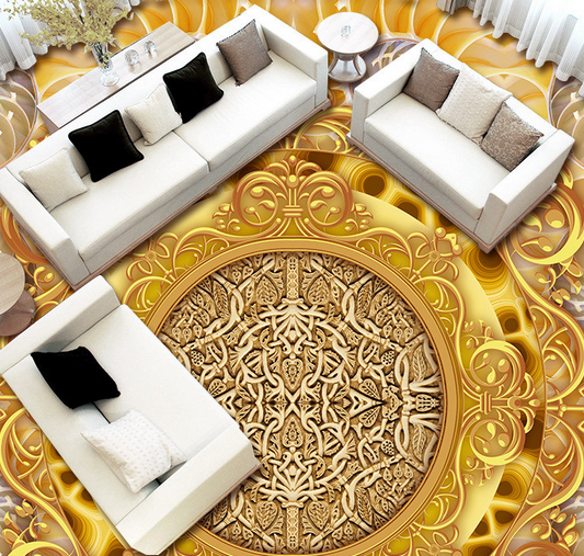 3D Muster 98 Fototapeten Wandbild Fototapete Tapete Familie DE Lemon