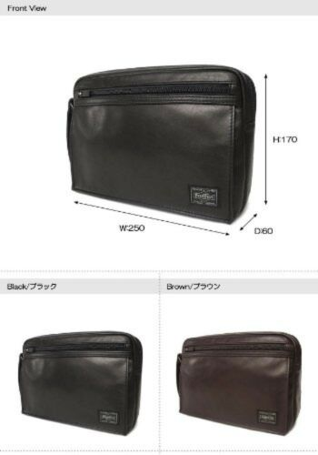 New YOSHIDA PORTER AMAZE POUCH 022-03797 Black EMS tracking From Japan