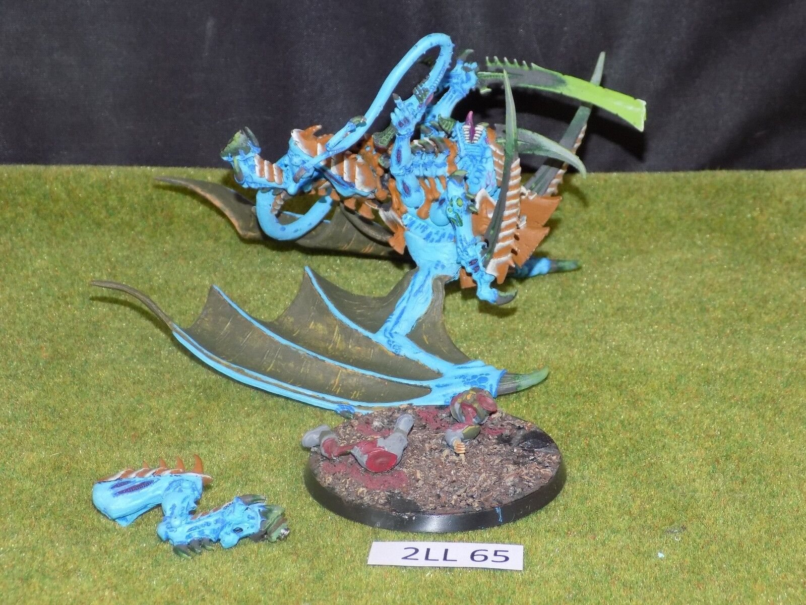partially TYRANT HIVE 1 Tyranids 40k Warhammer built WINGED
