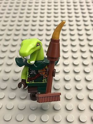 LEGO Ninjago 70594 Clancee Armor Ninja Enemy Minifigure NEW D35