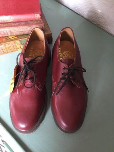 Tfi d'époque style oxblood Martens chaussures Tredair style Dr Aqw6PxP