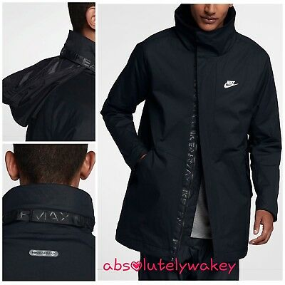 Nike Sportswear Air Max Men's Woven Jacket Black Blue | eBay