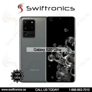 Samsung Galaxy S20 Ultra - 5G 128GB 12GB RAM 6.9 (SM-G988FD) Factory Unlocked Mississauga / Peel Region Toronto (GTA) Preview