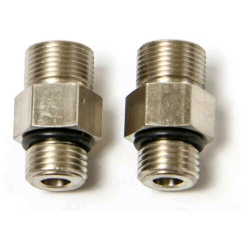 2 Seastar Teleflex Straight Fitting Orb HF6009 Hydraulic Steering Cylinder