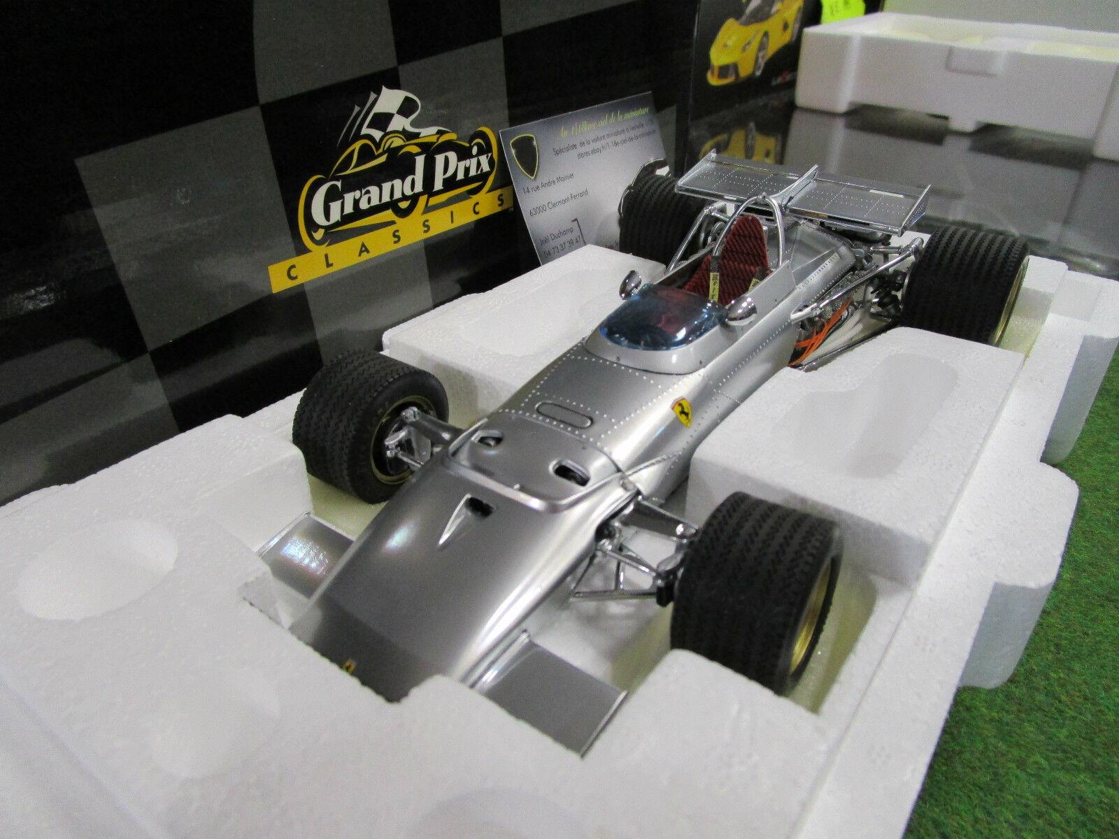 F1 FERRARI 312 B di 1970 Alluminio nella 1 18 di EXOTO 97068 OC formula 1