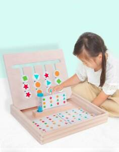 4-Color-Puzzle-Game-For-Children-Kids-Educational-Intelligence-Game-Wooden-Toy
