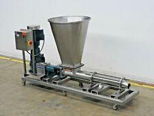 Moyno Fc1ksse3xaa Progressive Cavity Pump With Ss Feed Hopper 15hp