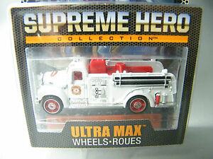 Matchbox-Supreme-Heroes-Mack-B-Model-1963-Feuerwehr-Fire-Engine-aus-Welle-A-RAR