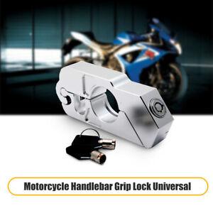 Lucchetto-Blocca-Manubrio-Leva-Freno-per-Moto-bici-Antifurto-Protezione-agrento