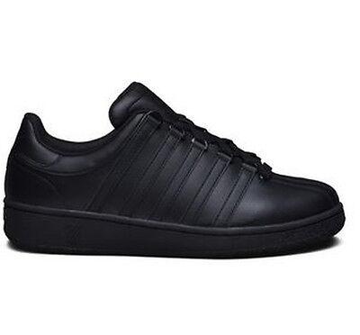 K-Swiss CLASSIC VN Black Men's Sneakers 03343-001-M Sz 7.5-12 Fast Shipping L H