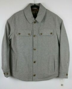 NWT-Pendleton-Mens-Size-Medium-Capitol-Hill-Button-Front-Shirt-Jacket-Wool-Blend