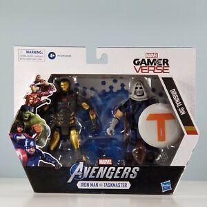 """Marvel Avengers: Gamerverse - Iron Man vs Taskmaster 6"""" Action Figure 2-Pack Set"""