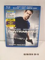 Contraband (two-disc Combo Pack Blu-ray+dvd+digital Copy+ultraviolet) Dvd-new