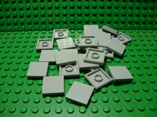 ** 25 CT LOT **  Lego NEW light bluish gray 2 x 2 tile pieces  Lot of 25