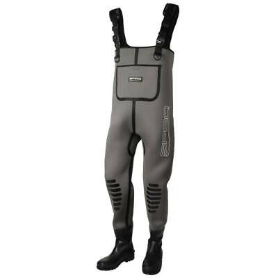 SAVAGE GEAR Black Savage Trousers Grey M Angelhose by TACKLE-DEALS !!