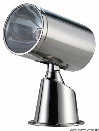 Scheinwerfer inox gesteuert 24 24 24 V-Marke Osculati 13.229.24 8e8489