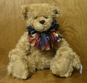 Annette-Funicello-Bear-035-SAM-18-034-Jointed-Mohair-Growler-NEW-From-Retail-Shop