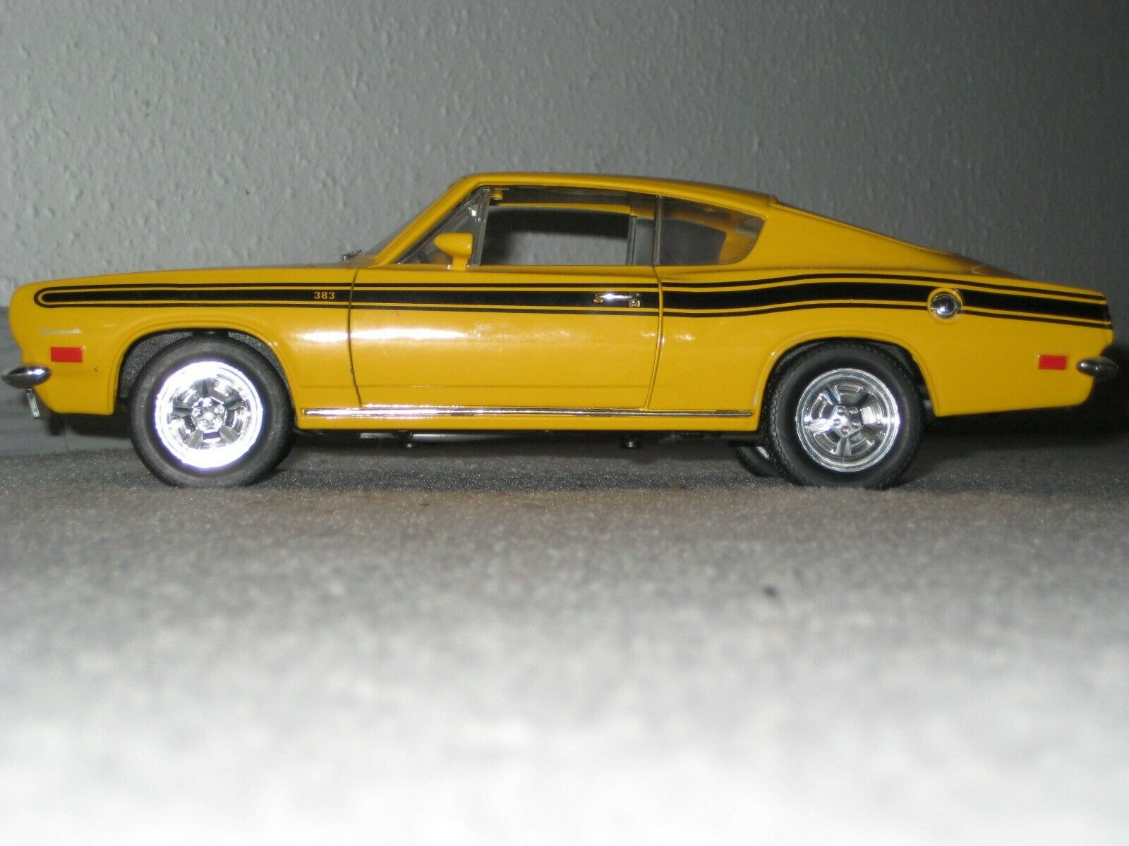 1 18 Modell,1969 Plymouth Barracuda,Oldtimer, Muscle Car,Rarität,Sammler,TOP