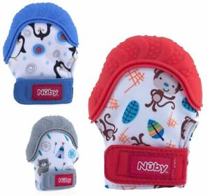 Nuby Teething Mitt Baby Teethers & Soothing Soothers Glove Mitten