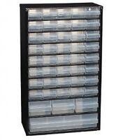 EAN: 1237614 -  2 x Raaco 44 Drawer Metal Storage Cabinet / Unit / Organiser