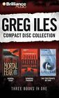 Greg Iles Compace Disc Collection 2: Mortal Fear, Spandau Phoenix, the Footprints of God by Greg Iles (CD-Audio, 2012)