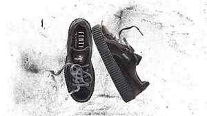 826349291a62 puma rihanna grey velvet creepers fenty trainers all sizes 3 4 5 6 7 8