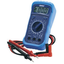 NEW Draper 60792 Digital Multimeter & Light Volt Amp Meter DMM Electrical Test