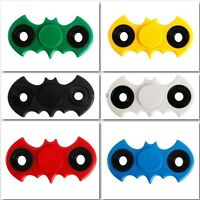 BATMAN Fidget Finger Hand Spinner EDC Bearing Focus BAT Spin Relieve Stress UK