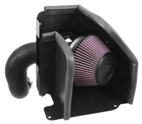 K/&N AirCharger 63 Series Air Intake System fits 13-16 Hyundai Santa Fe 2.4L L4