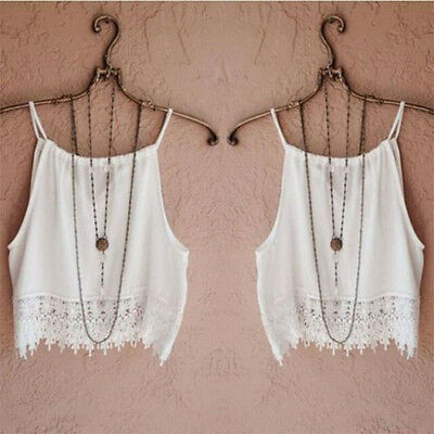 Fashion Women Summer Lace Tops Short Sleeve Blouse Casual Tank Tops Tee T-Shirt