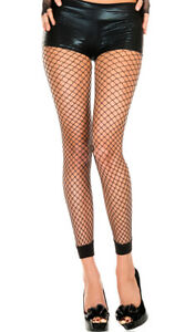 One Size Fits Most Womens Mini Net Leggings