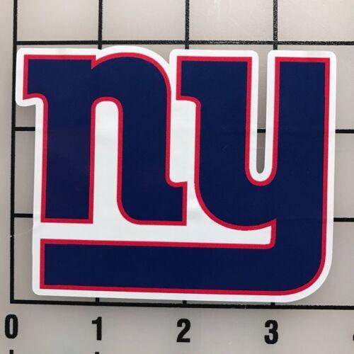 "BOGO New York Giants 3.5/"" Wide Multi-Color VInyl Decal Sticker"