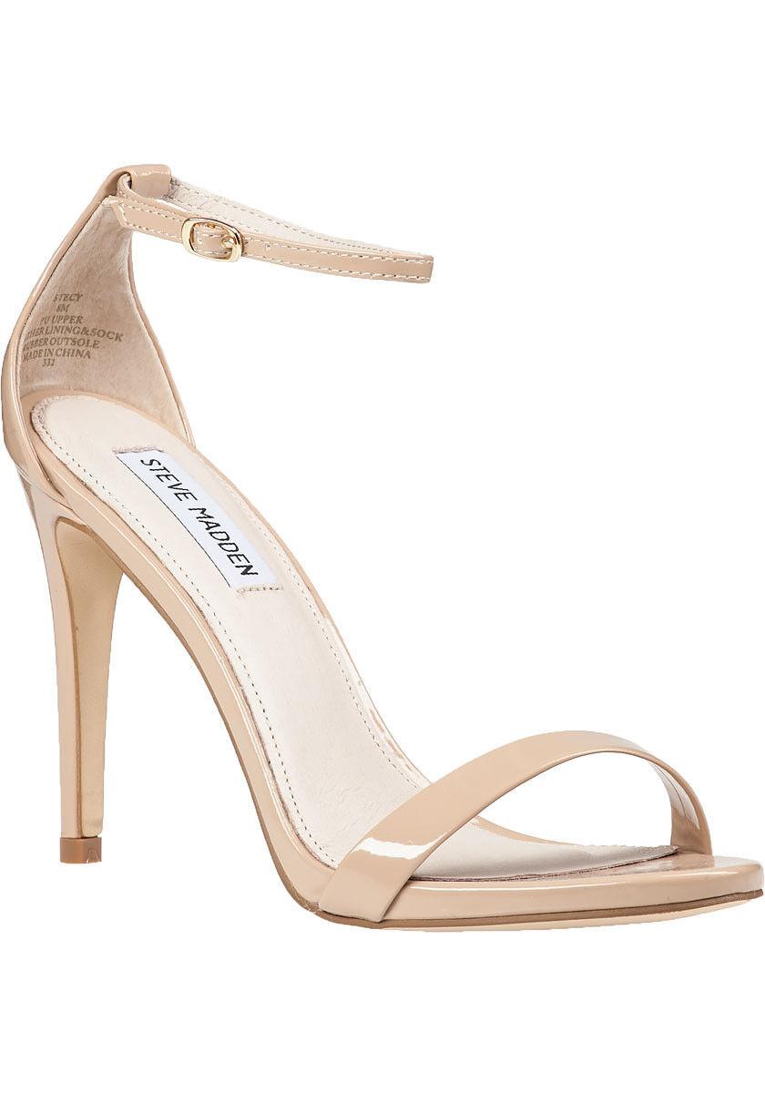 Steve Madden Stecy bluesh Patent Dress Sandal - 7.5