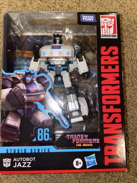 Transformers Studio Series Premier Deluxe Action Figures Autobot Jazz 86 8+ Year