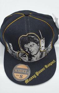 SCARFACE-pouvoir-de-l-039-argent-Respect-Casquette-de-Baseball-Snapback-Tony-Montana-vintage-hat