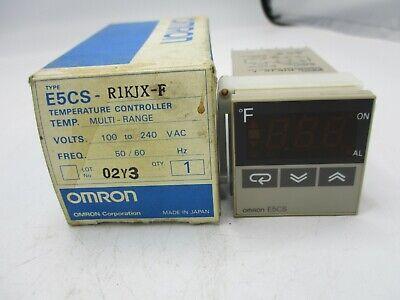 1PC New In Box OMRON E5CS-Q1KJX Temperature Controller