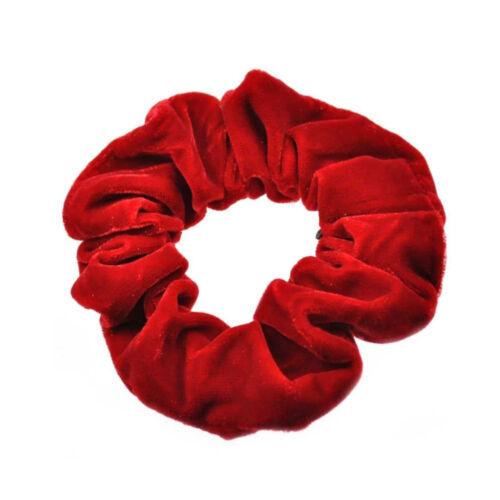 Velvet Scrunchies Luxurious Soft Smooth Large Scrunchie Ponytail Hair Bobble-g