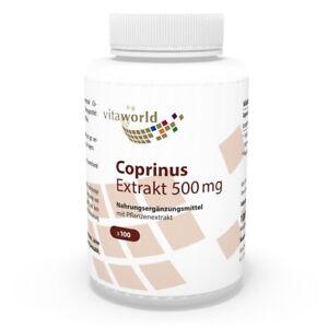 Vita-World-Coprinus-Extrakt-500mg-100-V-Kaps-Made-in-Germany-Comatus-Vitalpilz