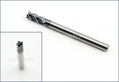 4mm 4 Flute Carbide Tungsten HRC45 Cutting End Mill CNC Router Drill Bit HSS Saw