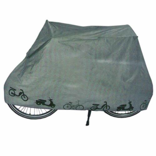 2er Set Fahrradgarage WasserdichtRollerabdeckung Abdeckplane Zweiradgarage