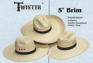 7cfb01089 Details about ~ Guatemalan Palm Leaf Straw ~ COWBOY HAT - WIDE 5