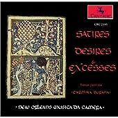 Satires,Desires & Excesses, New Orleans Musica Da Camera, Very Good Import