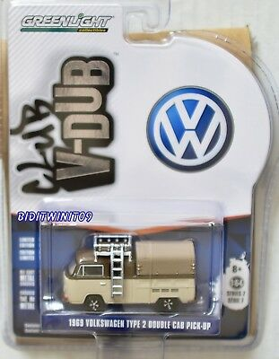 1969 Volkswagen Type 2 Double Cab Pick-Up 2018 Greenlight - Club V-Dub Series 7