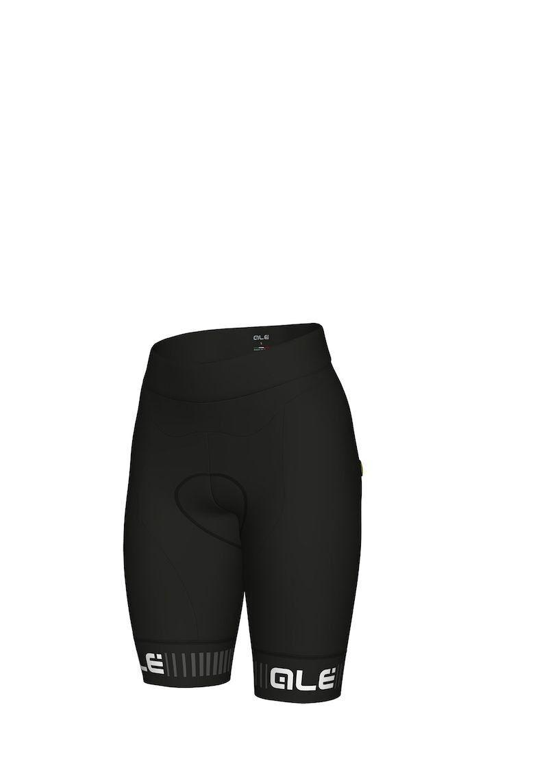 PANTALONCINO ALE' TRAGUARDO W black BIANCO Size XL