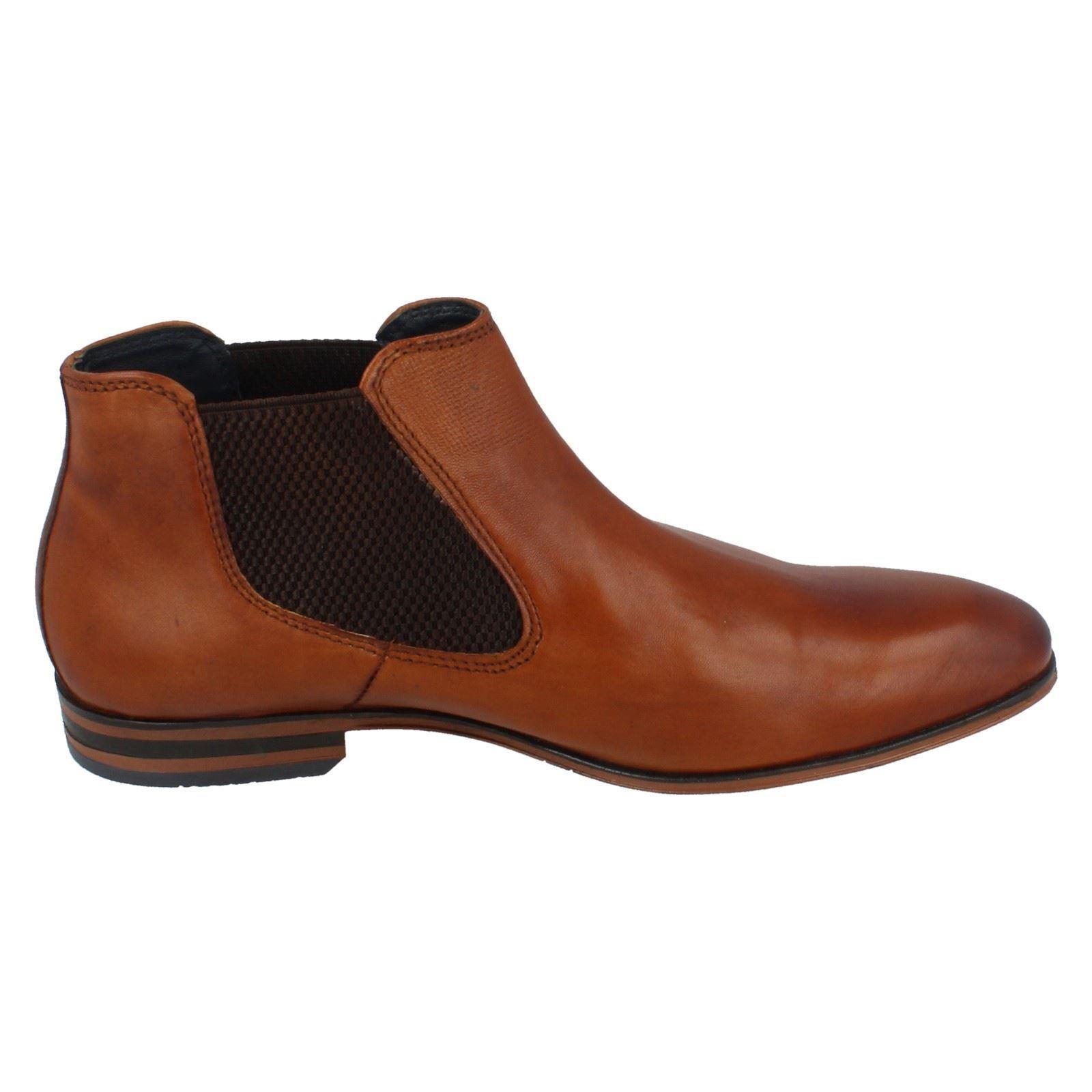 Herren ON BUGATTI 311-10120-4100 FORMAL Schuhe SMART WORK PULL ON Herren LEATHER ANKLE Stiefel 1c26e7